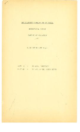 Loyal Edmonton Regiment Report on Operations Granarolo to the end of the Italian Campaign