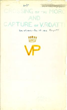 74(3)-1 Crossing of the Moro and Capture of V. Roatti Operation Report