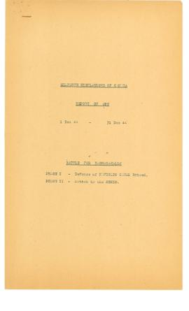 74(13)-2 Seaforth Highlanders of Canada Report on Operations 1 Dec 44 - 31 Dec 44 Battle for Bagnacavallo